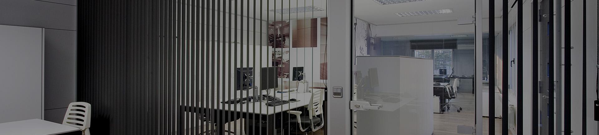 Mamparas divisorias de oficinas