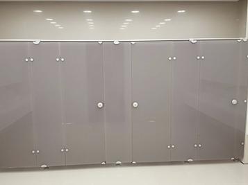Cabinas de cristal para vestuarios